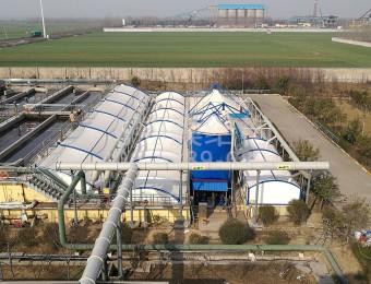临沂焦化厂污水加盖及废气处理