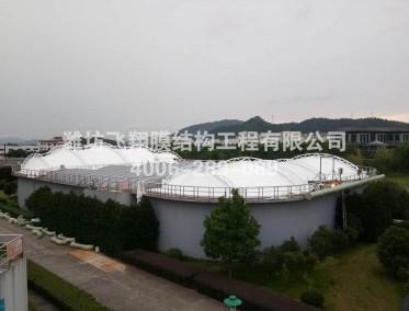 杭州枫叶桥镇污水池加盖