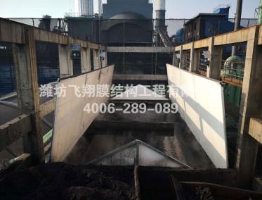 枣庄市盛隆化工可开启污水池加盖详图