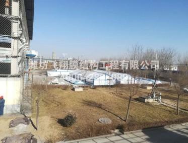 淄博汇龙化工有限公司反吊膜污水池加盖