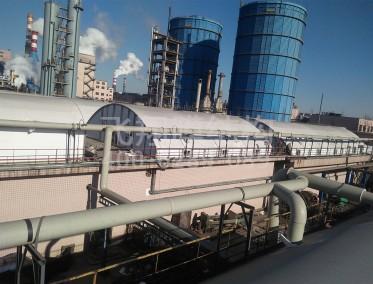 潍坊特钢集团污水池加盖