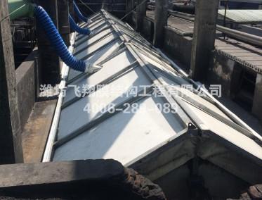 枣庄市盛隆化工有限公司可开启污水池加盖