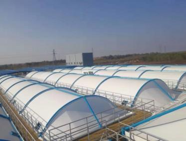 阳煤集团平原化工污水池加盖